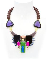 Katerina Psoma Multi-Media Necklace - Lyst