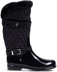 MICHAEL Michael Kors | Quilted Rain Boots | Lyst
