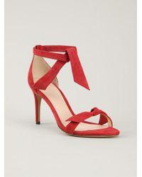 Alexandre Birman Red Lolita Sandals - Lyst