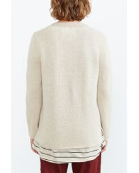 Koto - Marled Wool V-neck Sweater - Lyst