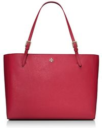 Tory Burch York Buckle Tote - Lyst
