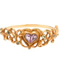 Christian Lacroix - Glam Heart Cuff - Lyst