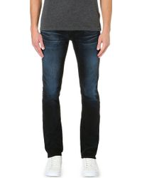 True Religion Kurt Slim Fit Skinny Jeans Colbalt - Lyst