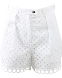 Carven | Ajoure Highwaist Short | Lyst