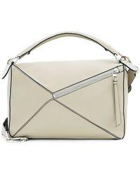 Loewe | Puzzle Large Leather Shoulder Bag | Lyst