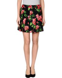 Miu Miu Mini Skirt - Lyst