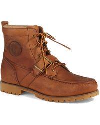 Polo Ralph Lauren Brown Redmond Boots - Lyst