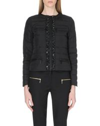 MICHAEL Michael Kors Embellished Quilted Jacket - For Women - Lyst