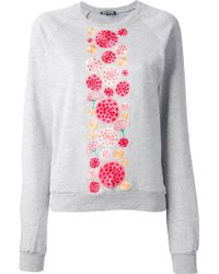 Holly Fulton - Floral Embroidered Sweatshirt - Lyst