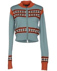 DSquared2 Blue Cardigan - Lyst
