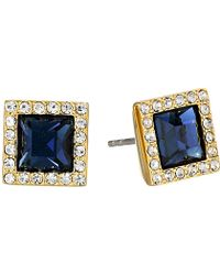 Michael Kors Colored Stud Earring - Lyst