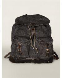 Ralph Lauren Canvas Canyon Backpack - Lyst