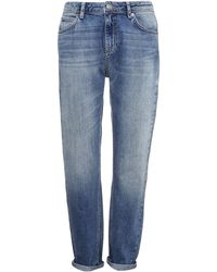 Whistles Light Wash Boyfriend Jeans - Lyst