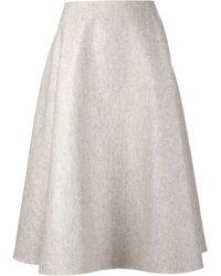 The Row A-line Skirt - Lyst