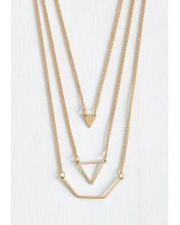 Lydell NYC - Let's Shape On It Necklace - Lyst