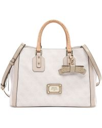 Guess Cheatin Heart Girlfriend Satchel - Lyst