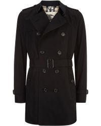 Burberry London The Kensington Mid-Length Heritage Trench Coat - Lyst