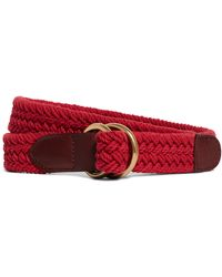 Brooks Brothers Cotton Braided Belt - Lyst