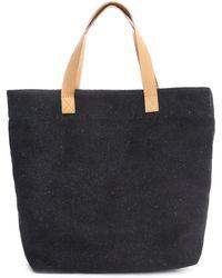 Veja Blue Flannel Tote Bag - Lyst