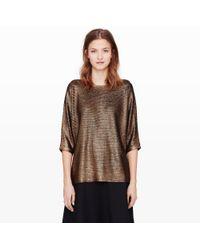 Club Monaco Lilah Metallic Sweater - Lyst