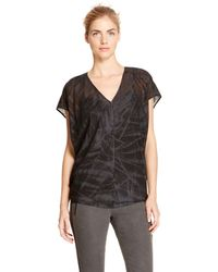 DKNY Pure Abstract Cocoon Top - Lyst