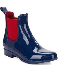 Lauren by Ralph Lauren Tally Rubber Boots blue - Lyst