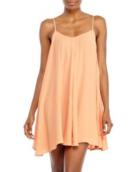 MINKPINK Peach Spin Around Dress - Lyst