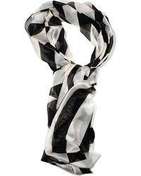 Armani Jeans Foulard Silk Striped - Lyst