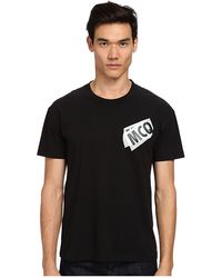 McQ by Alexander McQueen Logo Dropped Shoulder Tee - Lyst