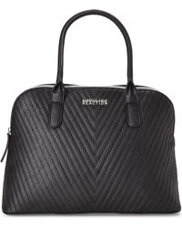 Kenneth Cole Reaction | Black Chevy Dome Satchel | Lyst