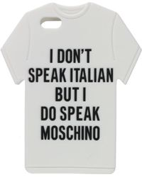 Moschino Speak Iphone 5 Case - Lyst