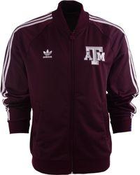 Adidas Mens Texas Am Aggies Legacy Track Jacket - Lyst