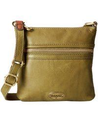 Fossil Explorer Mini Bag - Lyst