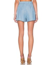 State Of Being - Chambray Short - Lyst