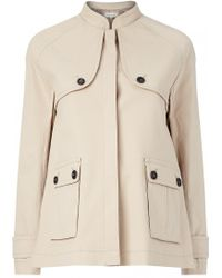 Paul & Joe | Beige Safari Jacket | Lyst