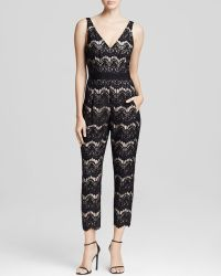 Tracy Reese - Jumpsuit - Deep V-Neck - Lyst