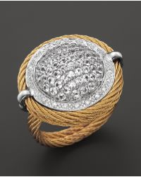 Charriol Classique Cable Ring gold - Lyst