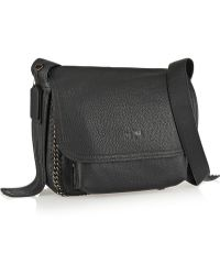 Coach Dakota Embellished Texturedleather Shoulder Bag - Lyst