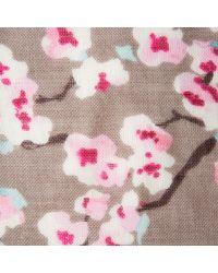 Joules - Julianne Praline Blossom Scarf - Lyst