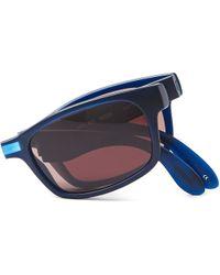 Ted Baker - Blue Racket Coloured Sunglasses - Lyst
