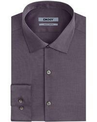 DKNY Mens Nailhead Dress Shirt - Lyst