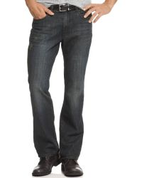 Kenneth Cole Boot Cut Jeans - Lyst