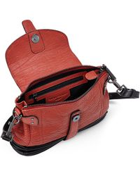 c06c50732a62 Fabiola Pedrazzini - Red Mini Nortia Top Handle Bag - Lyst