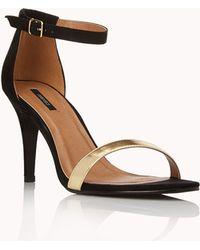 Forever 21 - Sleek Ankle Strap Sandals - Lyst