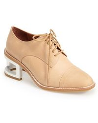 Jeffrey Campbell Women'S 'Sheldon' Leather Oxford - Lyst