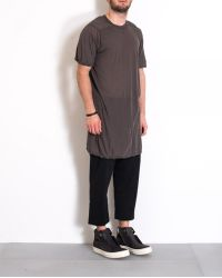 "Rick Owens Dust ""Level"" T-Shirt gray - Lyst"