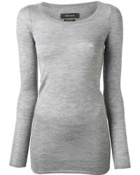 Isabel Marant Fitted Tshirt - Lyst