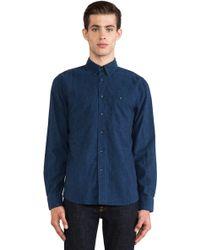 Nudie Jeans Blue Stanley Shirt - Lyst