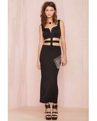 Nasty Gal Crossed The Line Dress - Lyst