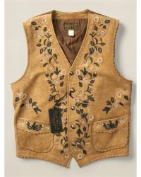 RRL Limited-Edition Leather Vest - Lyst